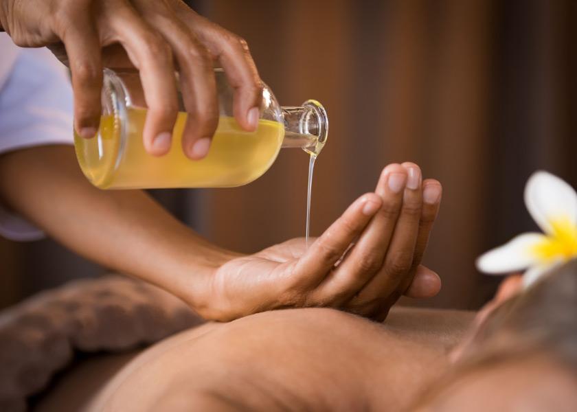 riverside park hotel massage oil