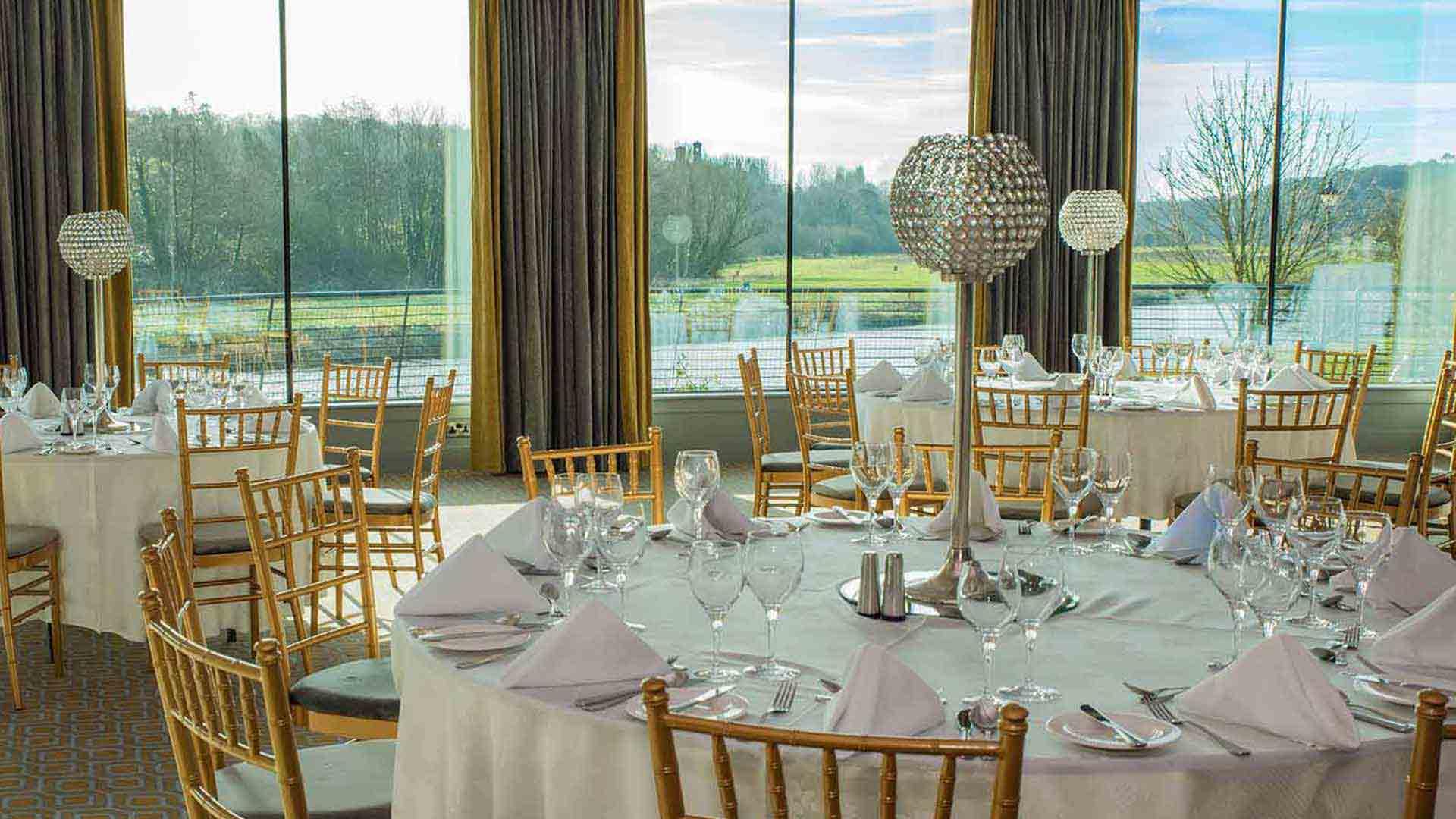 riverside park hotel wedding chairs